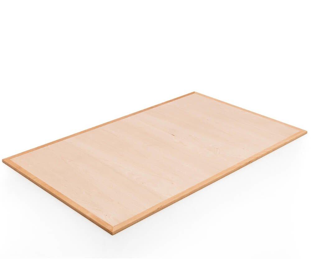Base materasso lettino Montessori in faggio massello