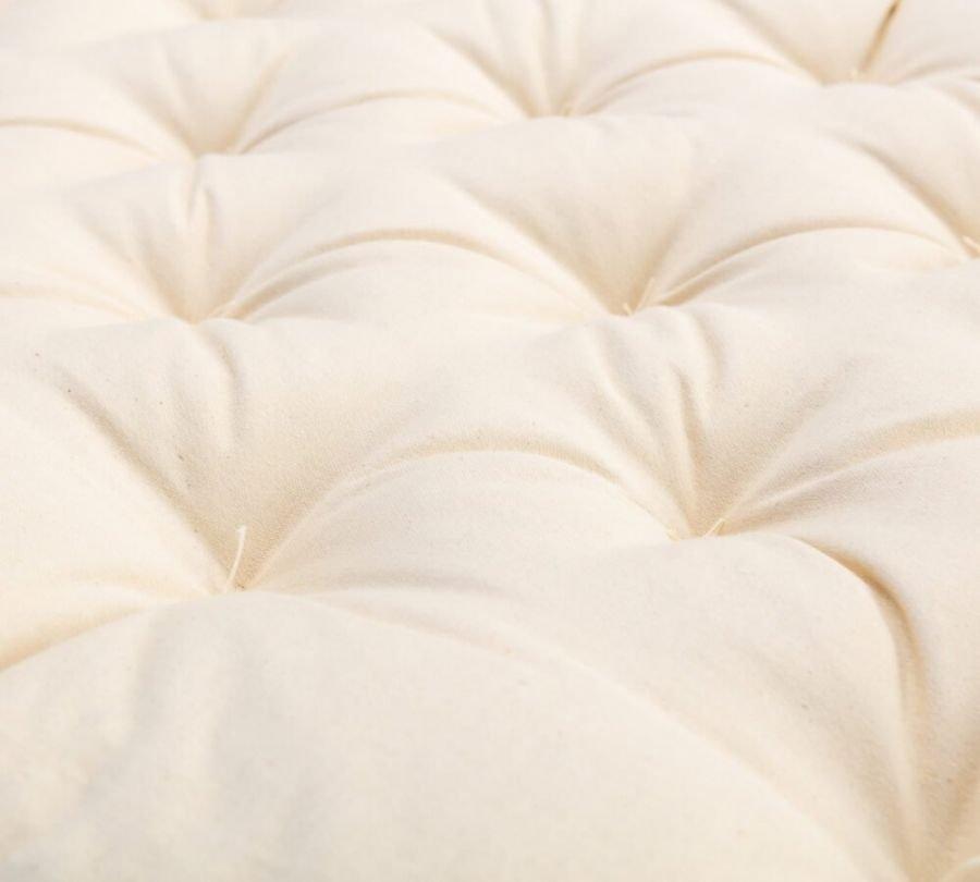materasso per lettino, materasso per bambini in lana e cotone