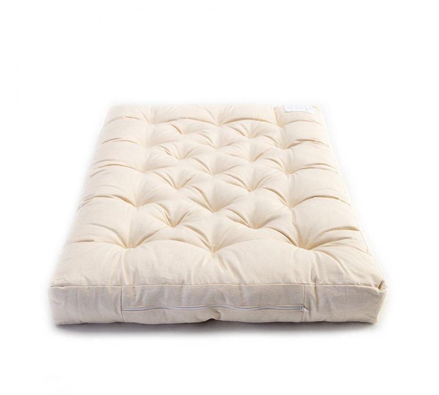 materasso per lettino, materasso artigianale, materasso per bambini in lana e cotone, babylodge