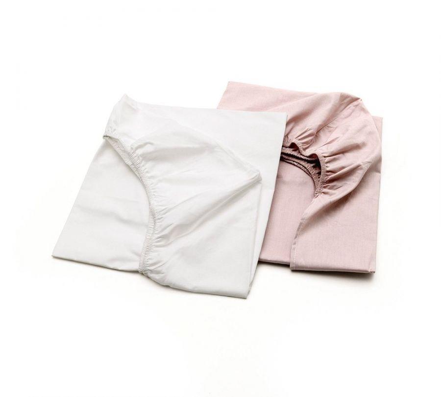 lenzuola lettino rosa, lenzuola per bambini, biancheria lettino rosa, babylodge