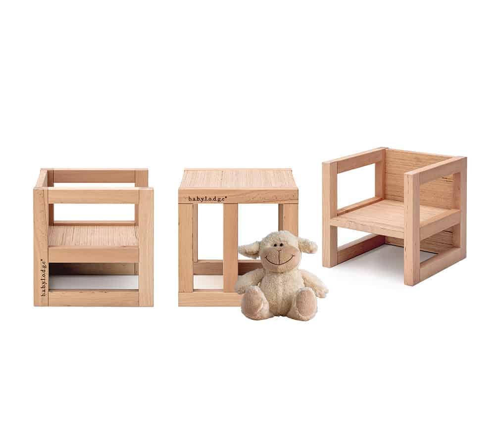 sedie e tavolo montessori