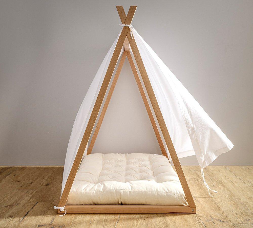 velo décor per lettino montessori a capanna, tenda baldacchino bianca per lettino, babylodge