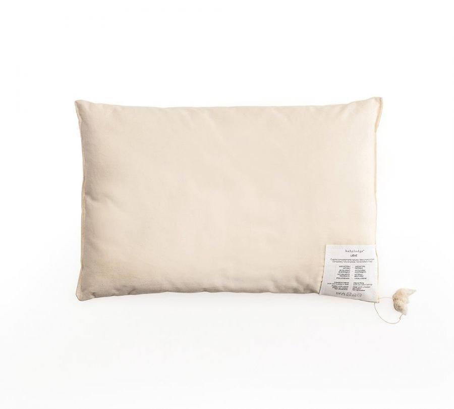 cuscino naturale per bambini, cuscino per lettino in puro cotone