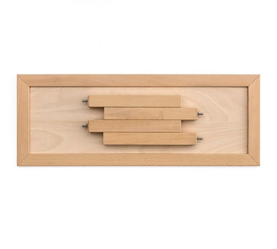 kit estensione in faggio massello per lettini montessori, babylodge