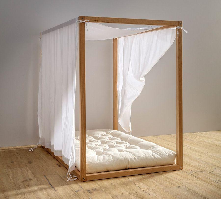 tenda per lettino montessori a baldacchino, babylodge