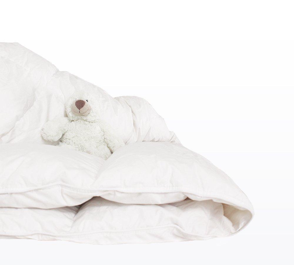 piumino per lettino con orsetto