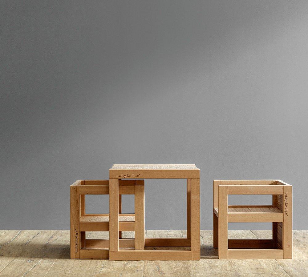 Tavolo e sedie Montessori di design per bambini