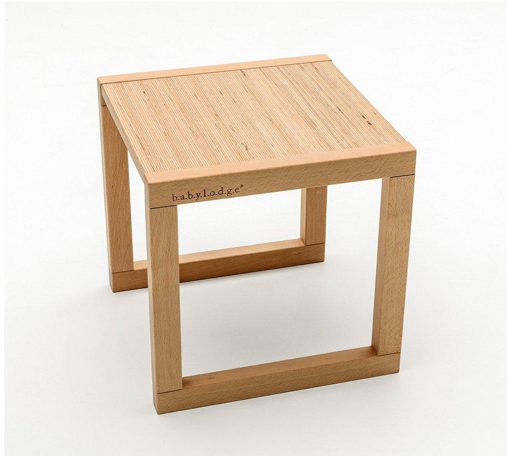 tavolo Montessori per bambini in legno di faggio